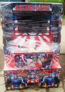 Video games arcade dingdong Model The Big – Captain America