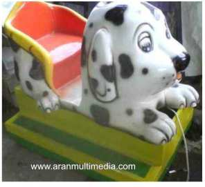 Odong odong Kereta Mini – Model Dogy Dalmation