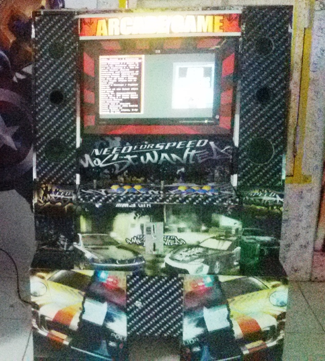 Video games arcade dingdong Model The Big - Need4Speed ...