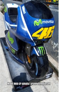 Model Motor GP Yamaha