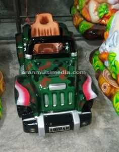 Odong odong Mobil Jeep Army