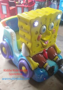 Kiddie Ride Model Sponge Bob